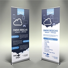 Hybrid Matte Blockout Roll-up Banner 11 Mil 36 Inches x 100 Feet