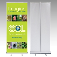 Durable Gloss Non-Woven Fabric Banner 36 Inches x 100 Feet