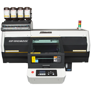 Mimaki UJF-3042MKII-EX Small-Format Tabletop UV-LED Flatbed Printer