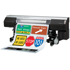 Oki ColorPainter M-64S Traffic Sign Printer
