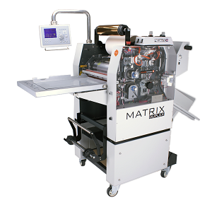 Matrix MX370DP Pneumatic Roll Foil, Laminating & Spot UV Effect Systems