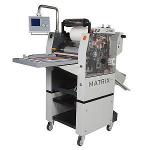 Matrix MX370P Pneumatic Roll Foil, Laminating & Spot UV Effect Systems