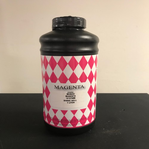 CET Color Mosaic Magenta Ink Bottle (1 Liter)