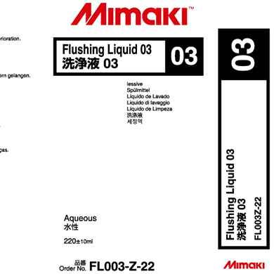 Mimaki Flushing Liquid 03 Cartridge 220ml