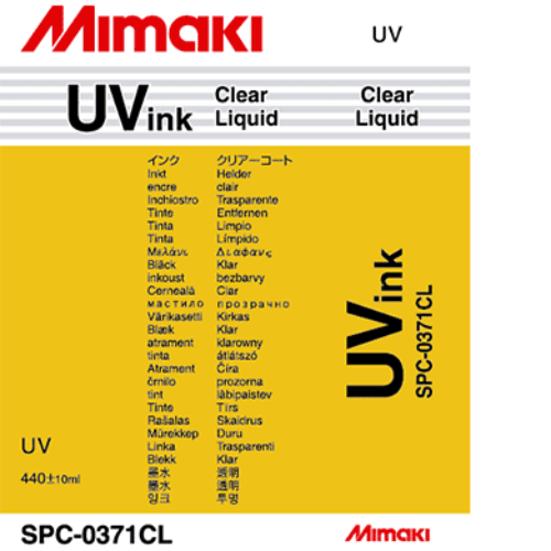 UV Curable Ink Cartridge 440ml Clear