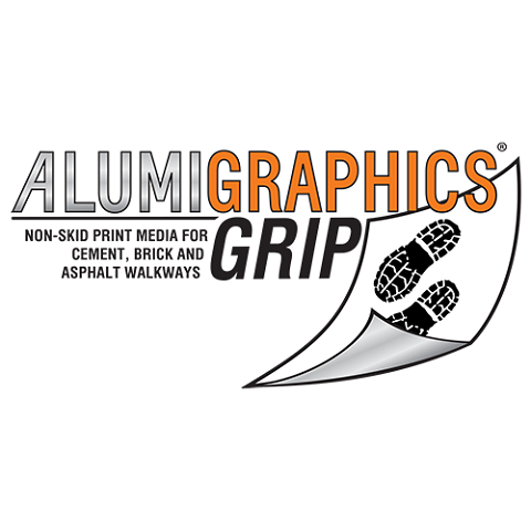 Alumigraphics Grip Outdoor Ground Graphics 53 Inches x 30 Feet