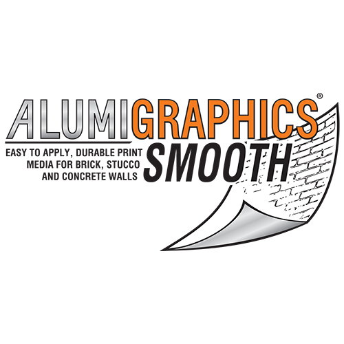Alumigraphics Smooth Outdoor Wall Graphics 53 Inches x 150 Feet