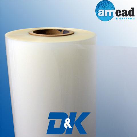 AMCAD: High-Temp PET Superstick Gloss Thermal Laminate 10 Mil - D&K