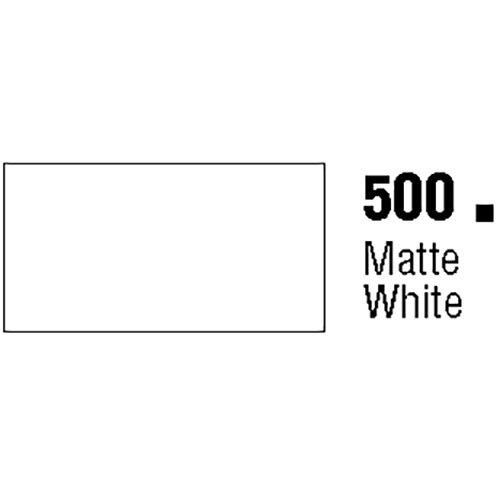 General Formulations 500-30U Unpunched Gloss Vinyl Matte White 30 Inches x 150 Feet