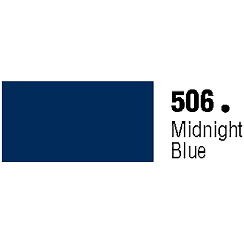 General Formulations 506-48 Unpunched Gloss Vinyl Midnight Blue 48 Inches x 150 Feet