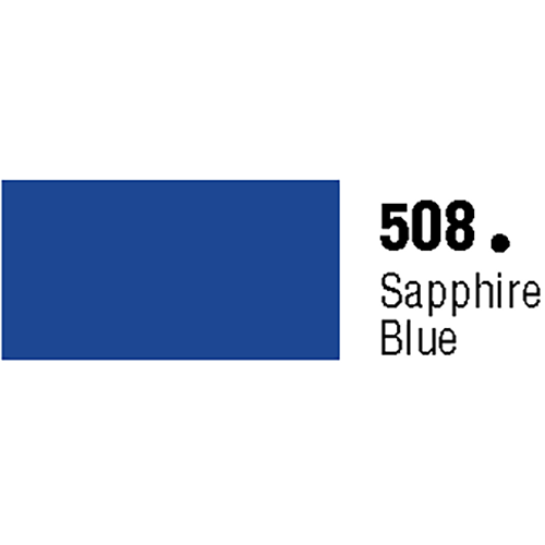 General Formulations 508-48 Unpunched Gloss Vinyl Saphire Blue 48 Inches x 150 Feet