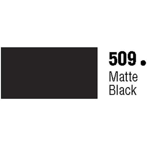 General Formulations 509-48 Unpunched Gloss Vinyl Matte Black 48 Inches x 150 Feet
