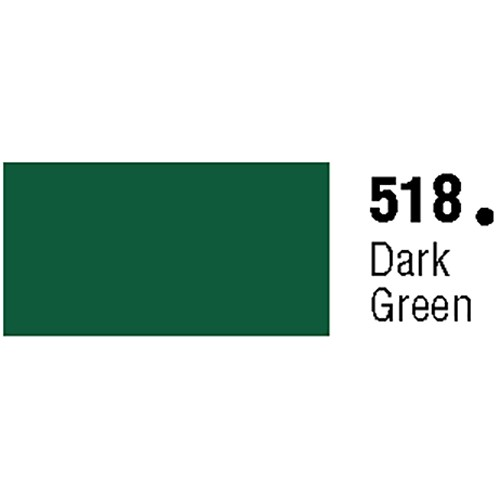 General Formulations 518-48 Unpunched Gloss Vinyl Dark Green 48 Inches x 150 Feet
