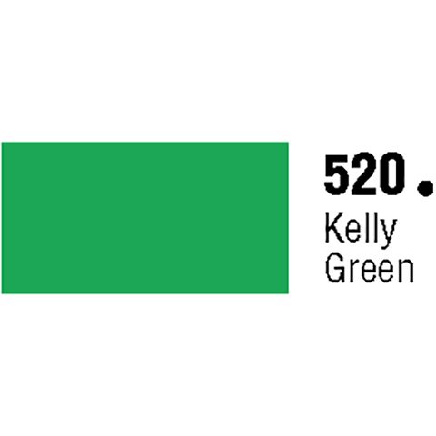 General Formulations 520-30U Unpunched Gloss Vinyl Kelly Green 30 Inches x 150 Feet