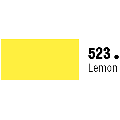 General Formulations 523-48 Unpunched Gloss Vinyl Lemon 48 Inches x 150 Feet