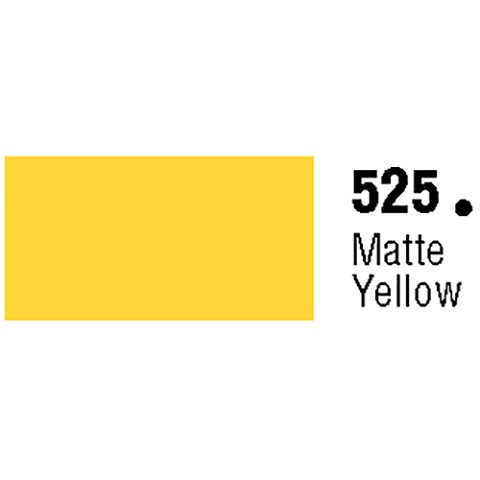 General Formulations 525-48 Unpunched Gloss Vinyl Matte Yellow 48 Inches x 150 Feet