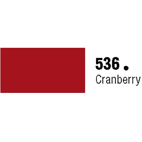 General Formulations 536-48 Unpunched Gloss Vinyl Cranberry 48 Inches x 150 Feet