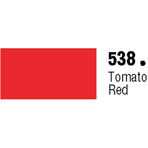 Unpunched Gloss Vinyl Tomato Red 30 Inches x 150 Feet