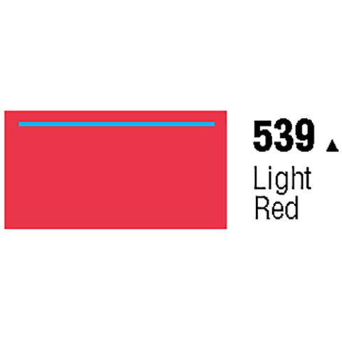 General Formulations 539-48 Unpunched Gloss Vinyl Light Red 48 Inches x 150 Feet