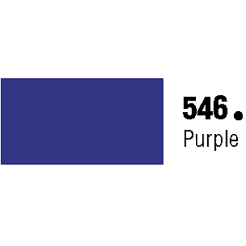 General Formulations 546-30U Unpunched Gloss Vinyl Purple 30 Inches x 150 Feet