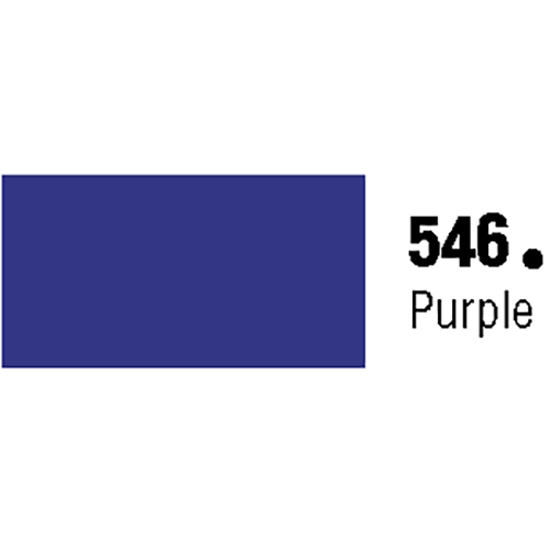 General Formulations 546-48 Unpunched Gloss Vinyl Purple 48 Inches x 150 Feet