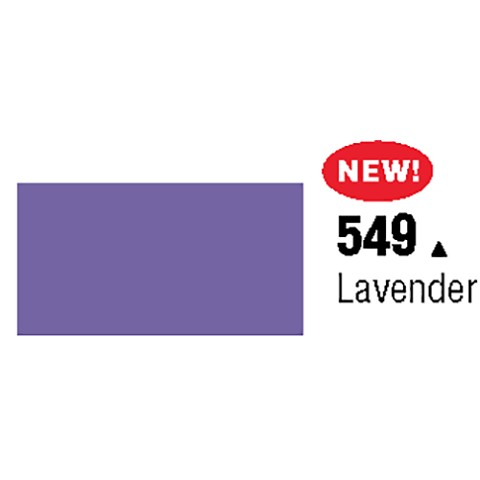 General Formulations 549-48 Unpunched Gloss Vinyl Lavender 48 Inches x 150 Feet