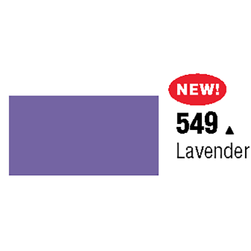 Unpunched Gloss Vinyl Lavender 48 Inches x 150 Feet