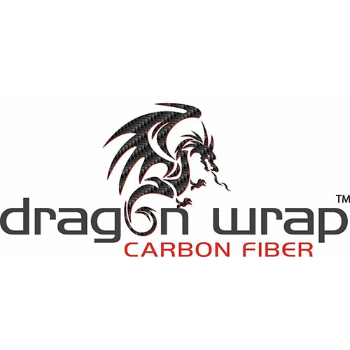 Concept 780 Dragon Wrap Unpunched 5.6 Mil Polymeric Black Carbon Fiber 30 Inches x 150 Feet