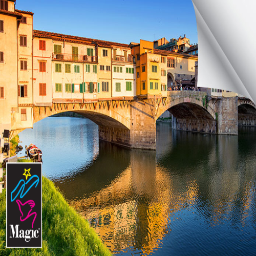 Magic VERONA250HD Cotton Smooth Rag 44 Inches x 50 Feet