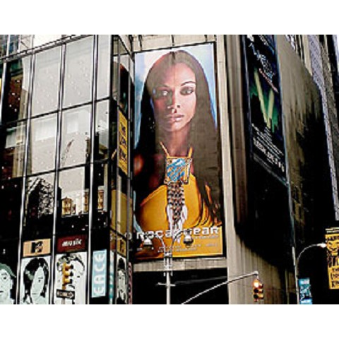 Ultraflex SuperPrint Plus FL 13 oz. Gloss Front-Lit Billboard & Banner Material 98 inch x 164 feet