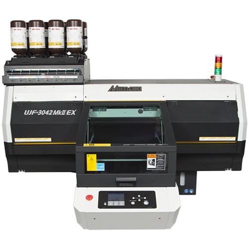 UJF-3042MKII-EX Small-Format Tabletop UV-LED Flatbed Printer